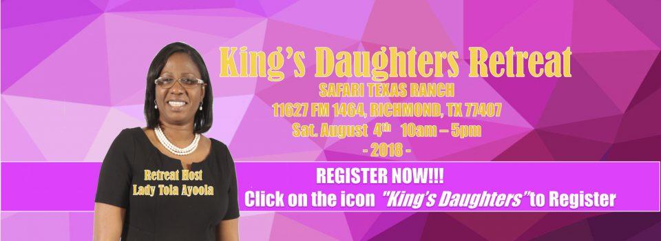Kings Daughters Retreat 2018